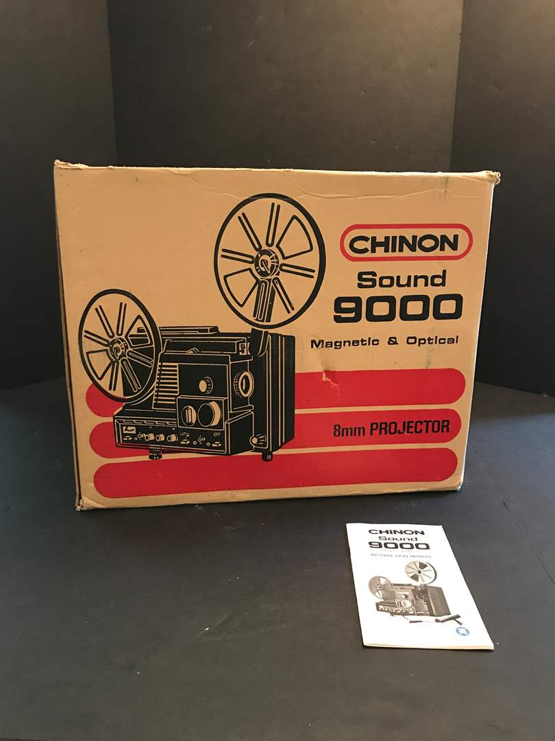 Lot # 219 - Chinon Sound 9000 Magnetic & Optical 8mm Projector  (main image)