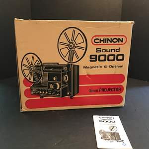 Lot # 219 - Chinon Sound 9000 Magnetic & Optical 8mm Projector
