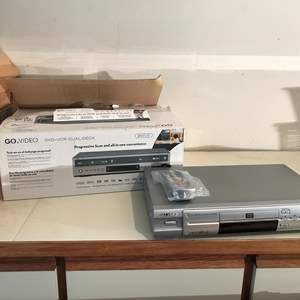 Lot # 225 - 2 Go Video DVD & VCR Player (See Photos)