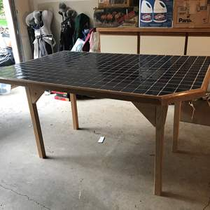 Lot # 226 - Hand Made Tile Top Table