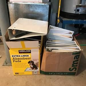 Lot # 237 - 2 Boxes Full Of Binders