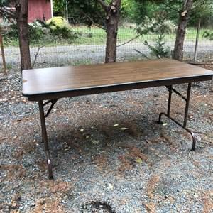 "Lot # 240 - Folding Table (60"" Wide)"