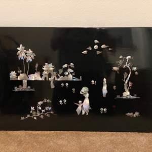 Lot # 7 - Beautiful Original Artwork w/ Abalone Inlay