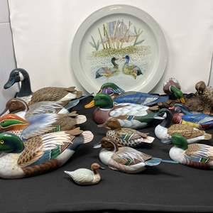Lot # 28 - Handmade Wood Ducks