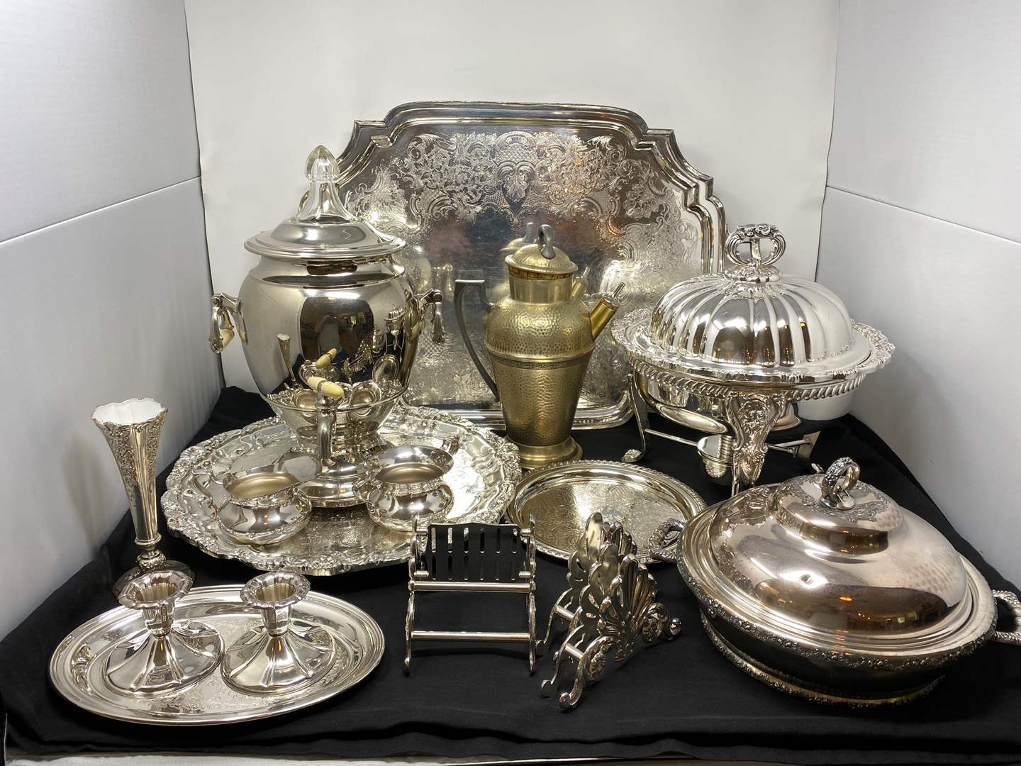 Lot # 47 - Collection of Vintage Silver Plated Items - (See Pictures) (main image)