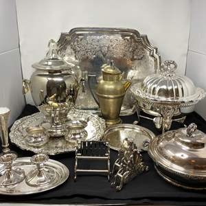Lot # 47 - Collection of Vintage Silver Plated Items - (See Pictures)