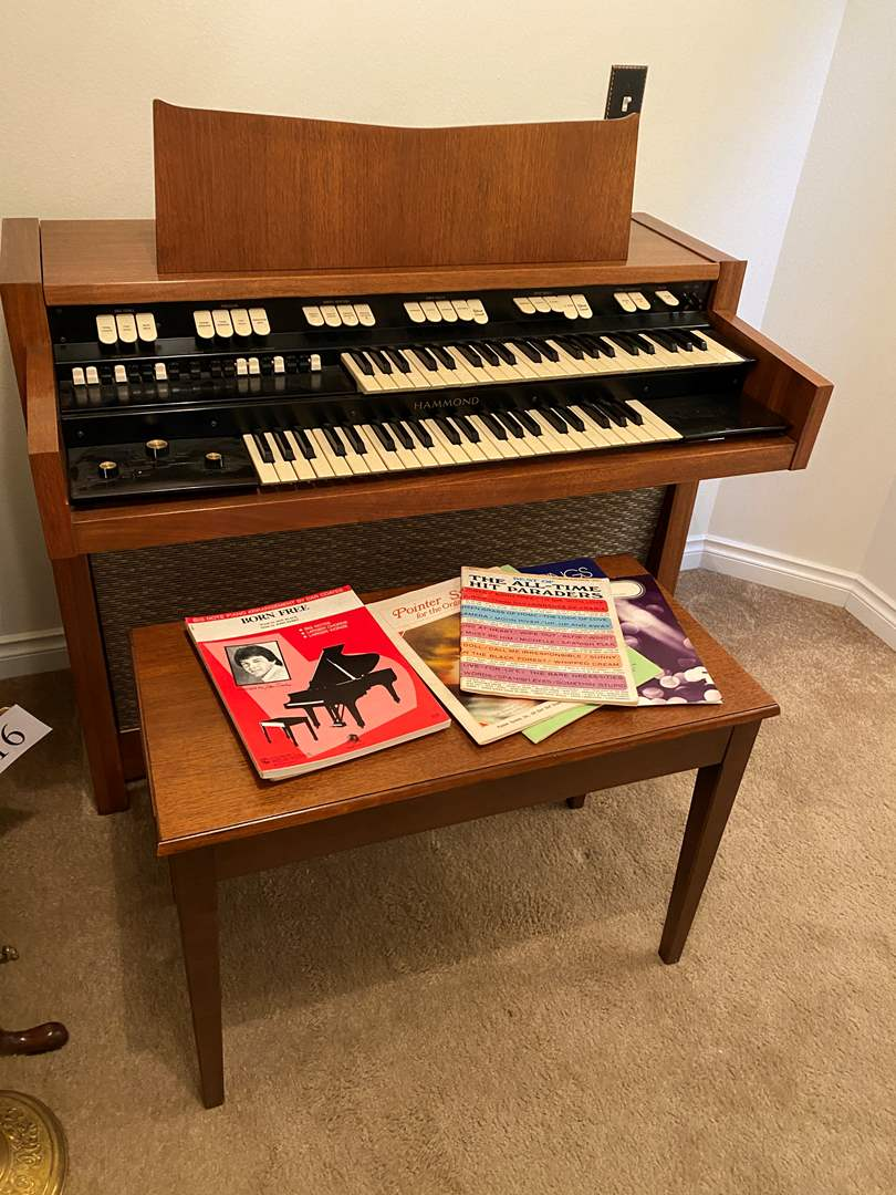 Lot # 107 - Hammond 102-A Organ (main image)