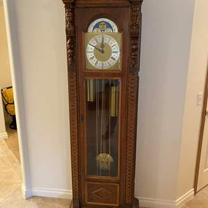 "Lot # 109 - Beautiful ""Urgos"" Grandfather Clock"