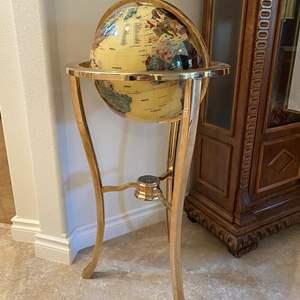 "Lot # 110 - The World's Finest Gemstone Globe by Alexander Kalifano - (36"" tall)"