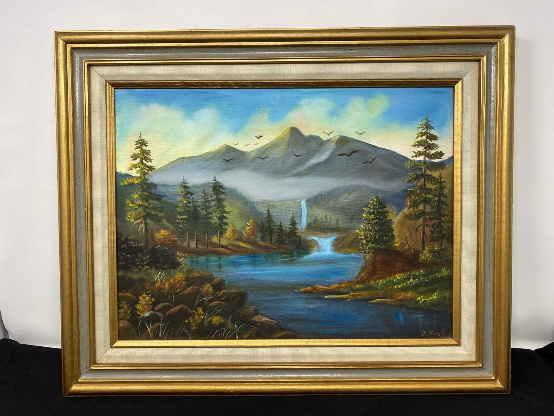 Lot # 115 - Original Oil in Canvas by B. Scott (main image)