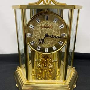 "Lot # 122 - Vintage German ""Kundo"" Brass Anniversary Clock"