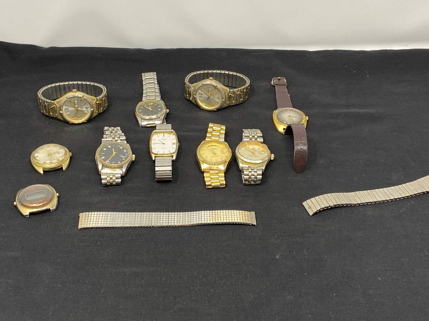 Lot # 130 - Vintage Watches: Rolex (Authentic?), Timex, Elgin, Wrangler & More (main image)
