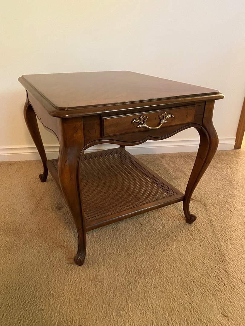 Lot # 132 - Vintage Drexel Side Table (main image)