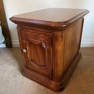 """Lot # 139 -  Vintage """"Drexel Cabernet"""" Side Table"""