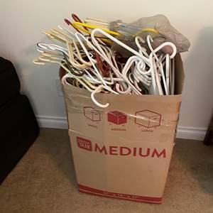 Lot # 142 - Box Full of Hangers