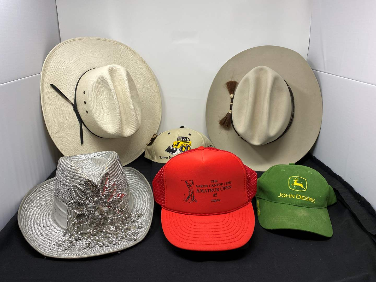 """Lot # 147 - """"Bailey"""" Executive Beaver Hat (7-1/4), ShangJung 20-Star Hand-Woven Cowboy Hat (7-1/8), Woman's Cowgirl Hat & More (main image)"""
