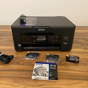 Lot # 165 - Epson XP-4105 Printer - (Powers On)
