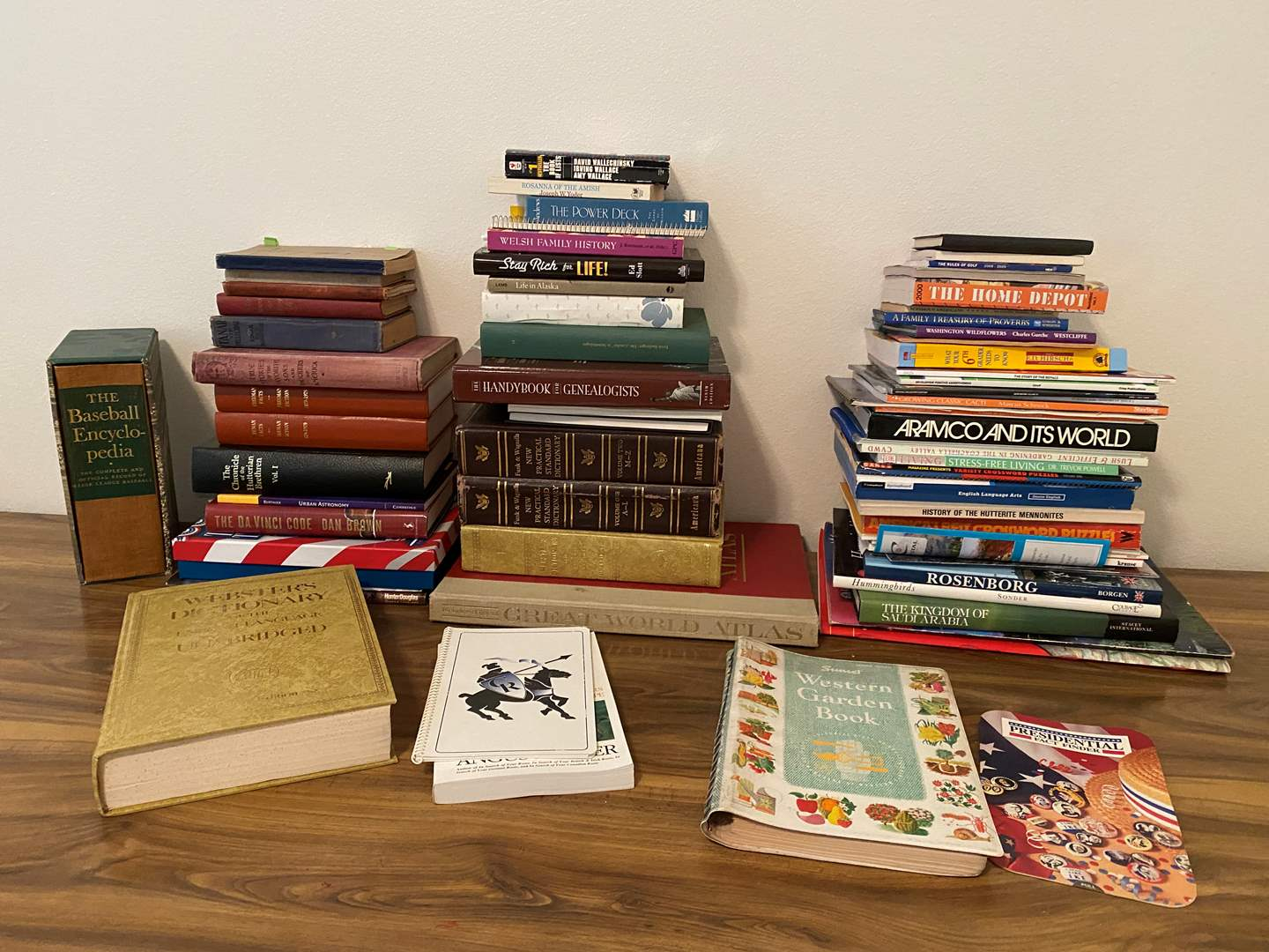 Lot # 174 - Great Collection of Vintage & Modern Books - (See Pictures for Titles & Copyright Dates) (main image)