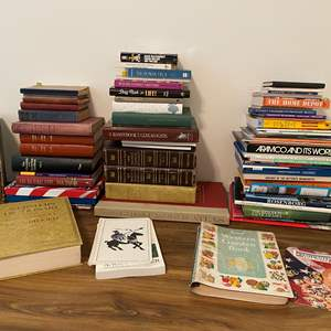 Lot # 174 - Great Collection of Vintage & Modern Books - (See Pictures for Titles & Copyright Dates)