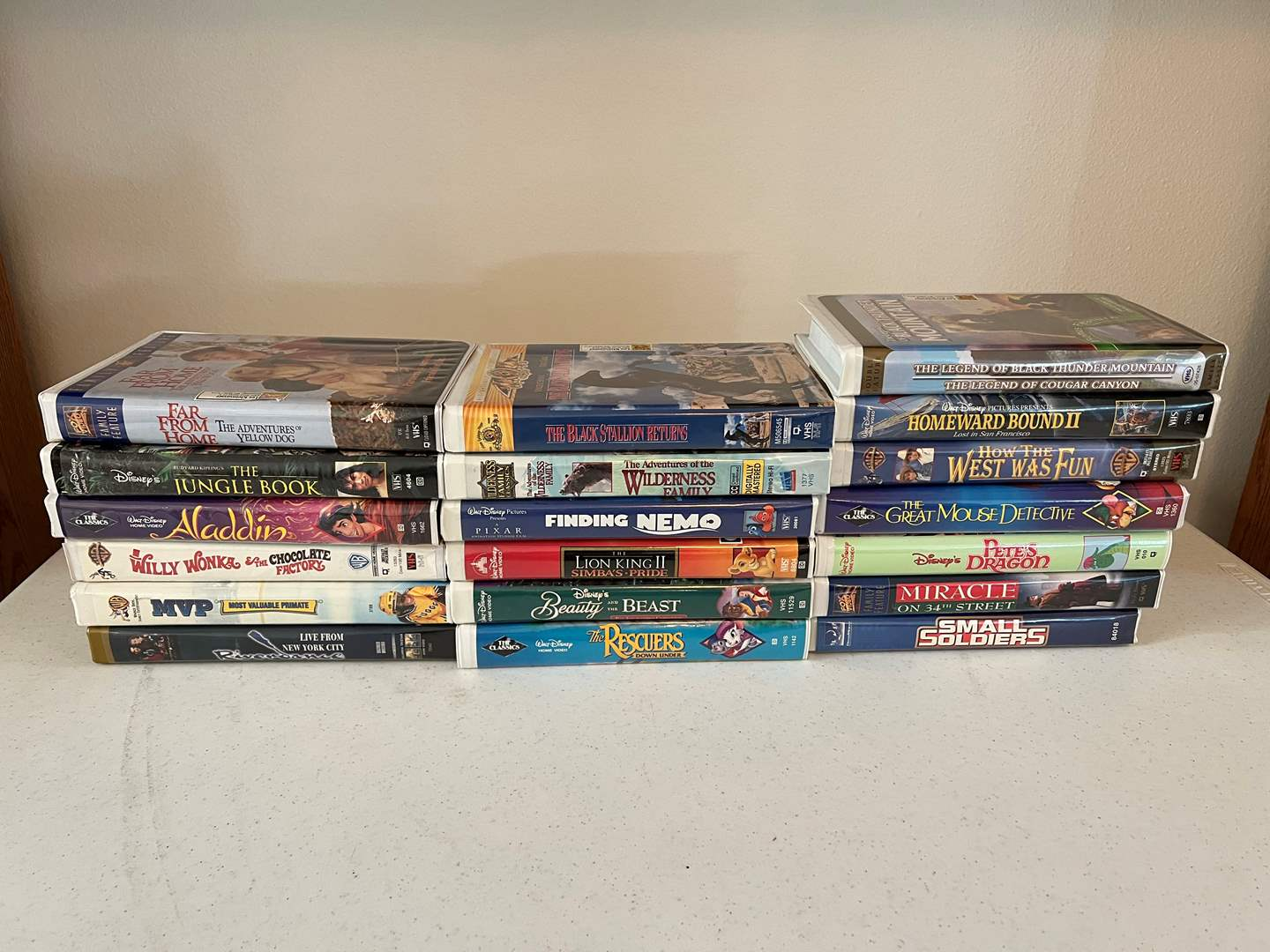 Lot # 191 - Great Collection of Vintage Family VHS Movie Classics (main image)