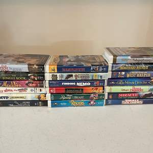Lot # 191 - Great Collection of Vintage Family VHS Movie Classics