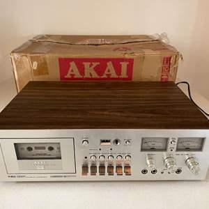 Lot # 196 - Akai GXC-740D Stereo Cassette Deck