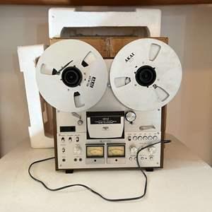 Lot # 198 - Vintage Akai GX-630B Reel-to-Reel Player