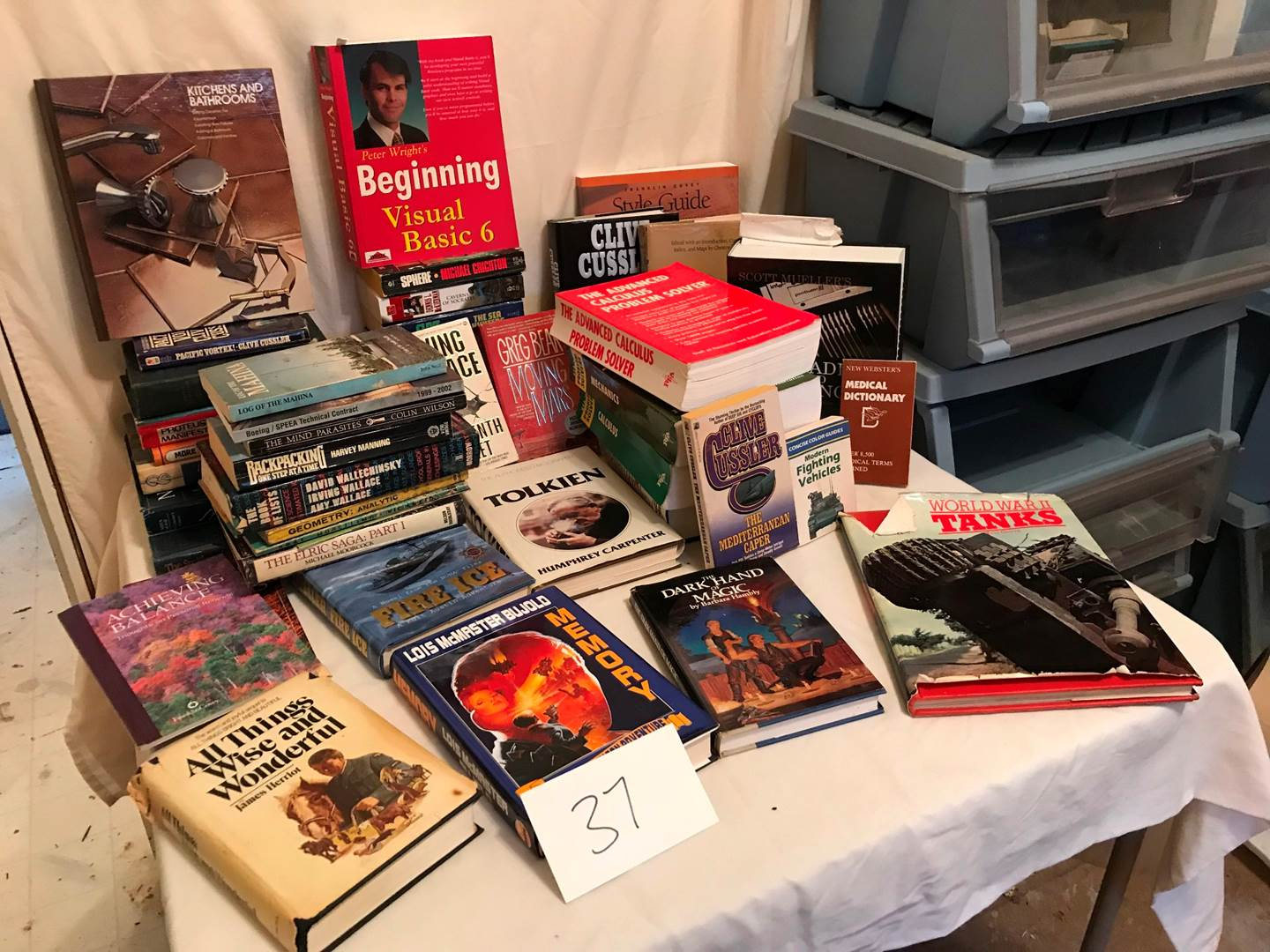 Lot # 37 - Lot of Misc Books (main image)