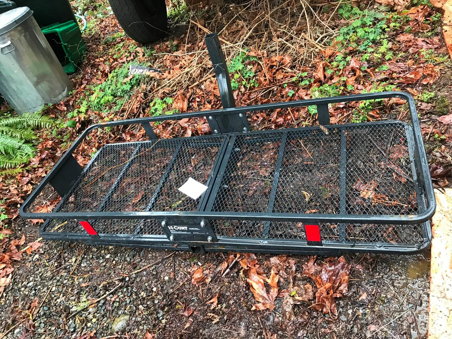 Lot # 82 - Curt Trailer Hitch Cargo Carrier - 500lbs Capacity. (main image)