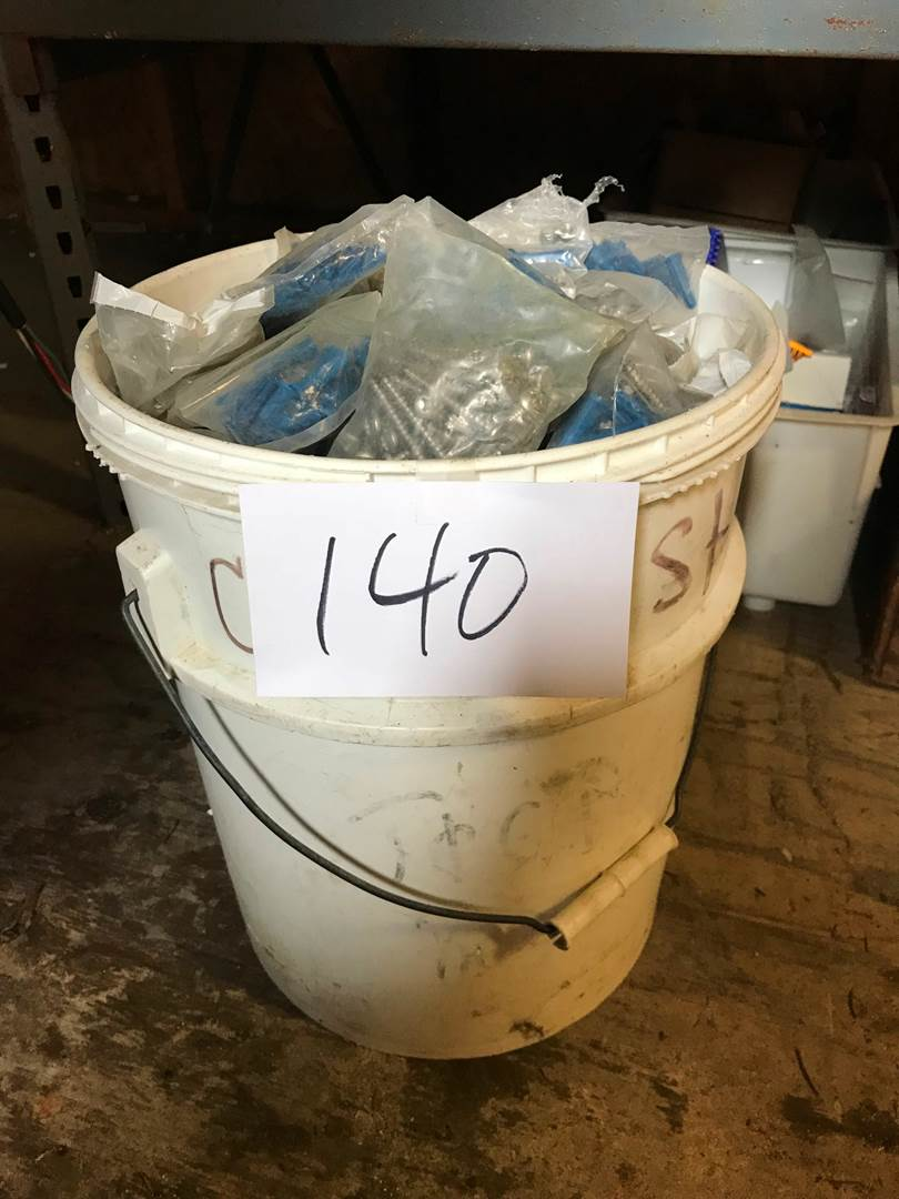 Lot # 140 - Huge Bucket of Misc Screws. (main image)