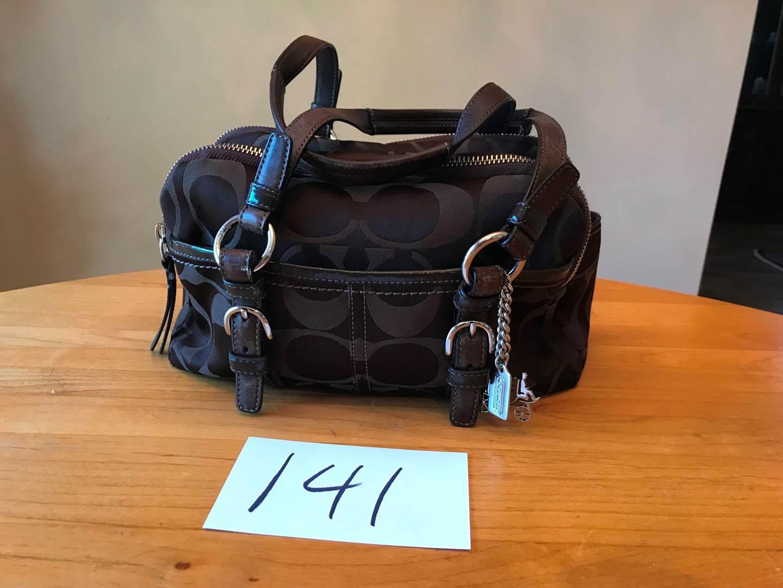 Lot # 141 - Very Nice Coach Purse (light wear). (main image)