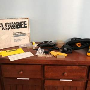 Auction Thumbnail for: Lot # 124 - FlowBee Precision Hair Cutting System, ConAir Clippers w/Attachments