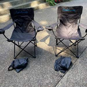Auction Thumbnail for: Lot # 266 - Two Folding Camp Chairs