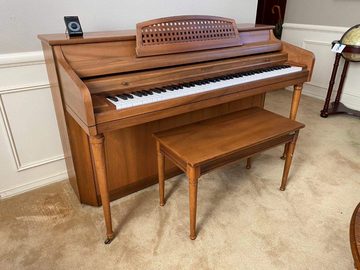 Lot # 9 - Vintage Whitney Piano SN#858796 (main image)
