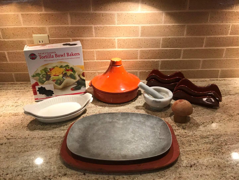 Lot # 65 - Serving Dish, Taco Bowl, Bakers, Tortilla Warmer & More.. (main image)