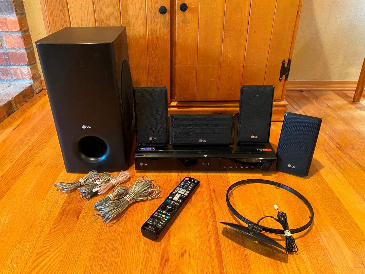 Lot # 46 - LG Blu-Ray Home Theater System Model #LHB335 - Powers On (main image)
