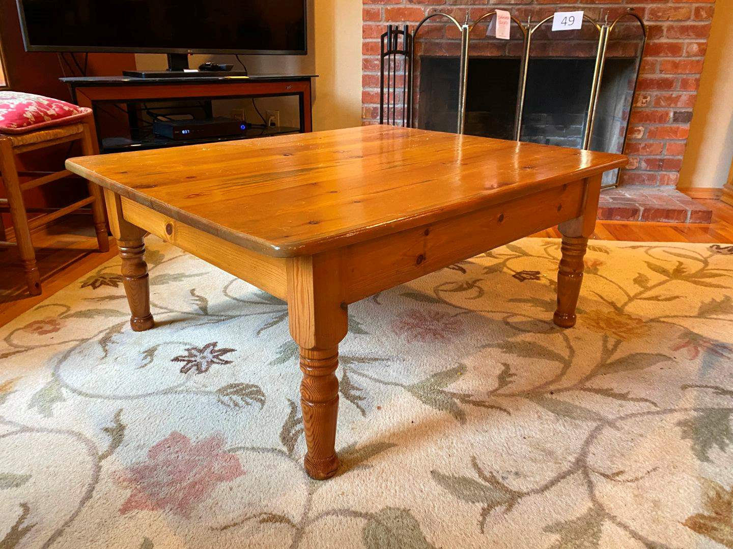 Lot # 50 - Nice Wood Coffee Table  (main image)