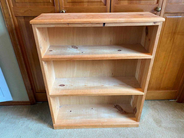 Lot # 93 - Wood Book Shelf (main image)