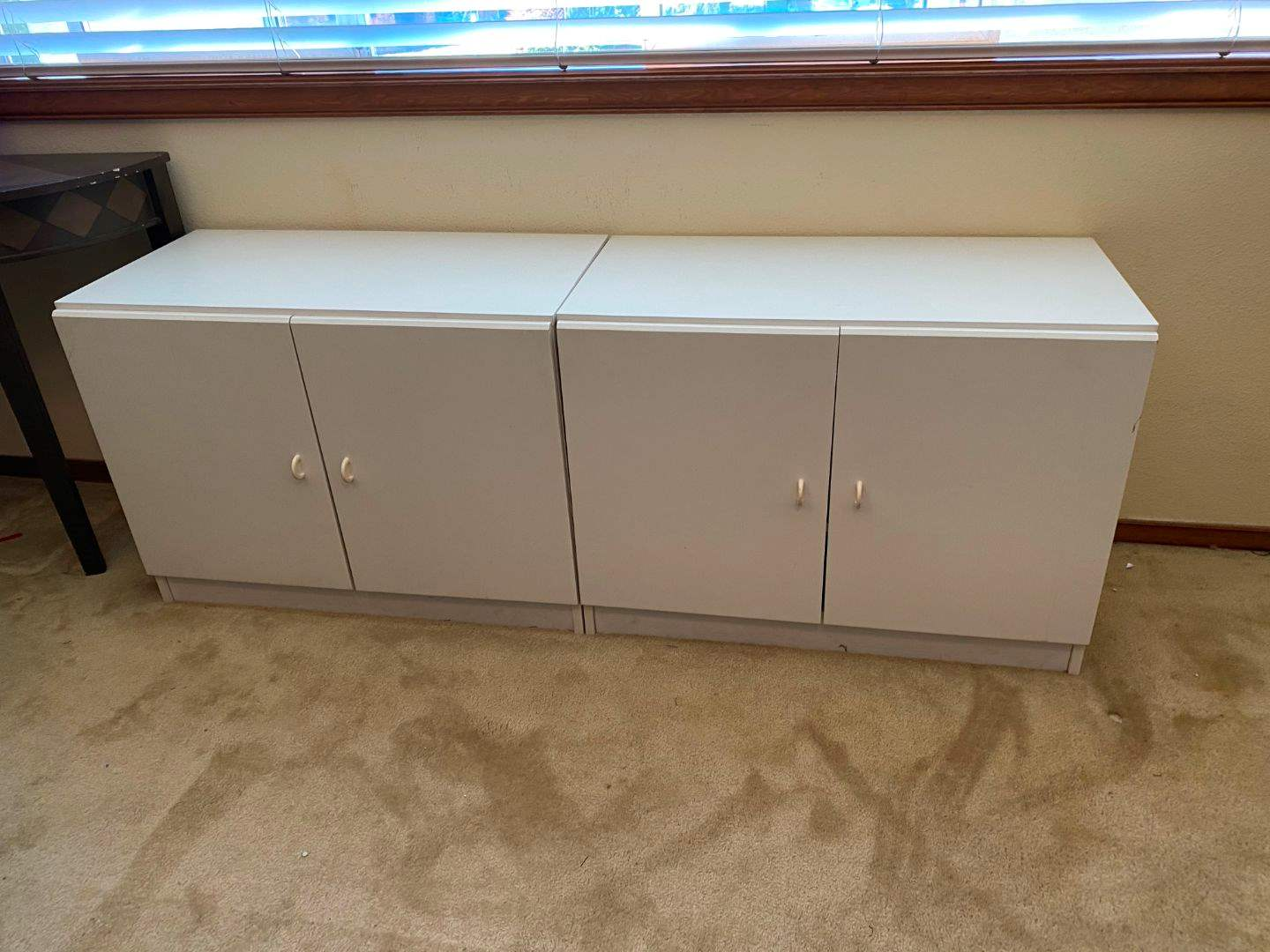 Lot # 148 - Two Wood Cabinets  (main image)