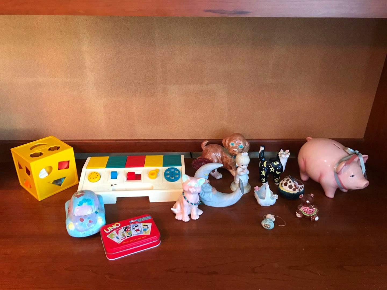 Lot # 164 - Baby Toys, Ceramic Figurines & More.. (main image)