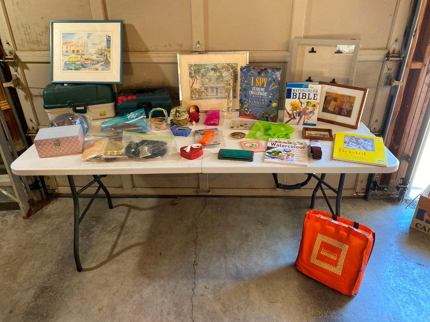 Lot # 196 - Wall Art Crafting & Other Misc. Items (main image)