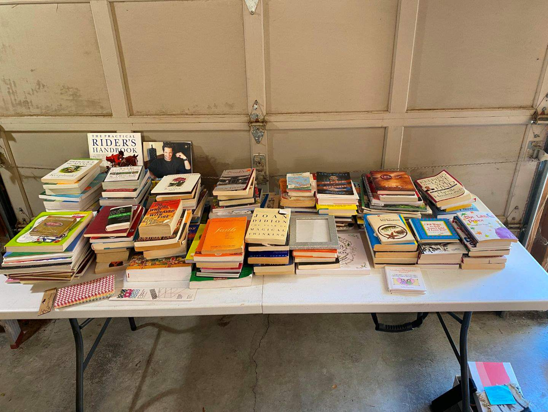 Lot # 198 - Lot of Books, Novels, Coloring Books (main image)