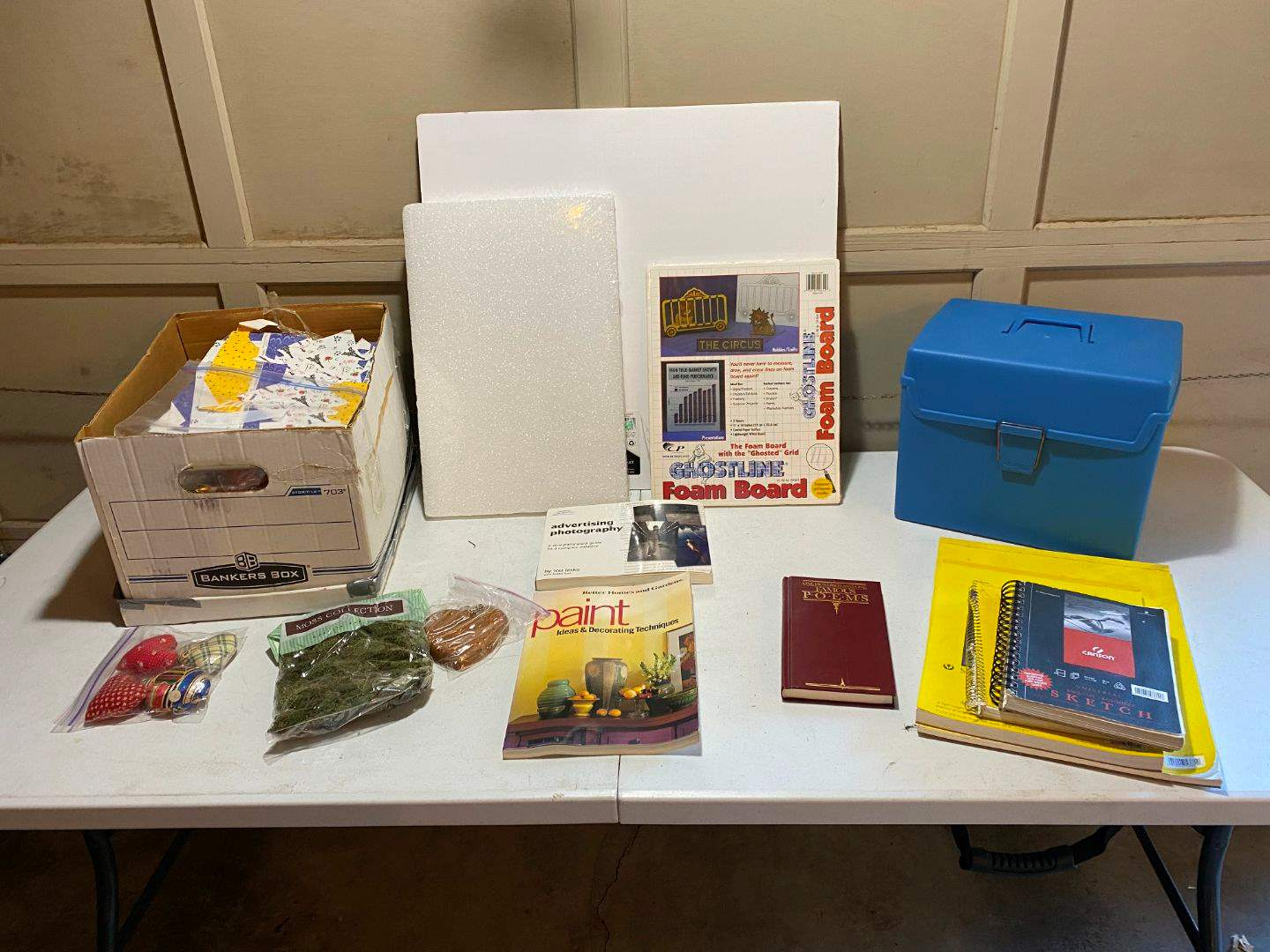 Lot # 221 - Crafting & Scrapbooking: Sketch Books, Foam Boards, & Other Misc Scrapbook Supplies (main image)
