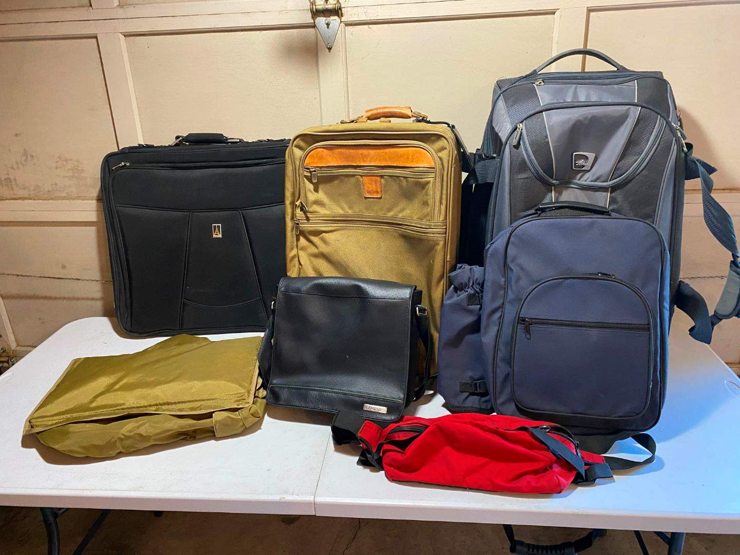 Lot # 224 - Luggage: Picnic Backpack, Carry-On Bags, Suitcases. (main image)