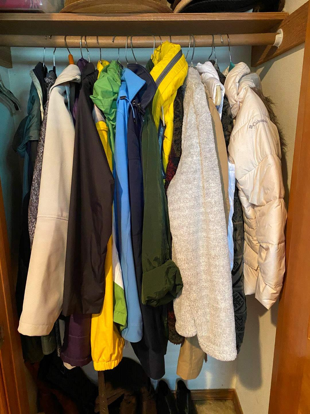Lot # 35 - Closet of Nice Women's Coats; Columbia, North Face, Eddie Bauer & More - (See Pictures for Brands & Sizes)  (main image)