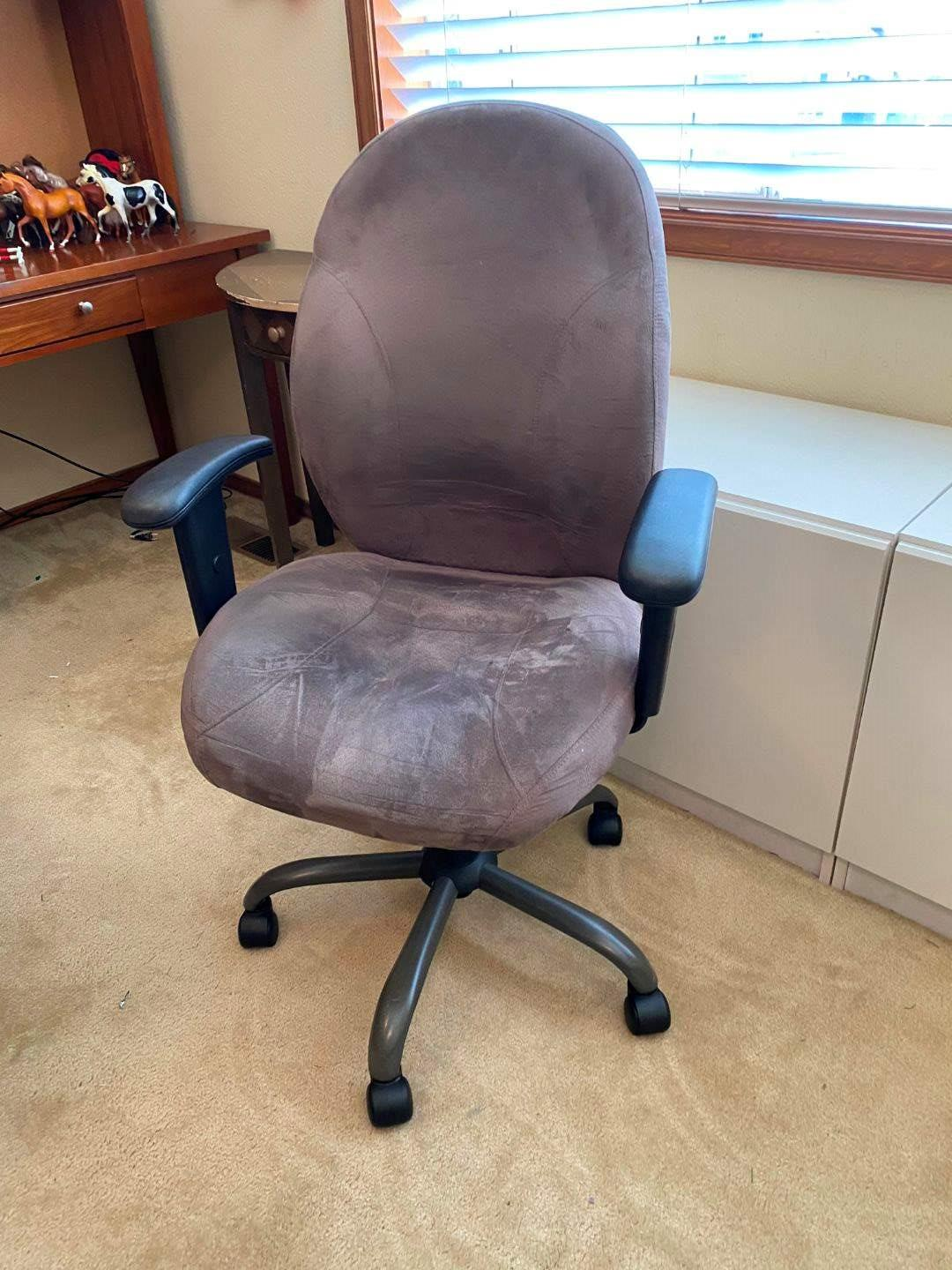 Lot # 150 - Adjustable Micro Fiber Office Chair  (main image)
