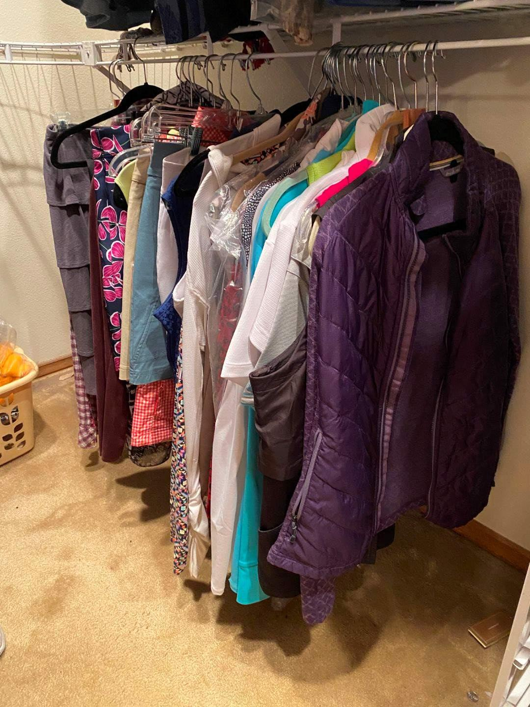 Lot # 187 - Women's Golf Clothing & More - (See Pictures) (main image)