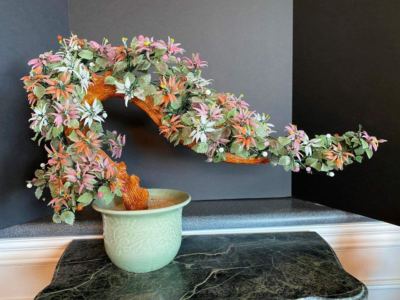 Lot # 82 - Beautiful Potted Jade Bonsai  (main image)