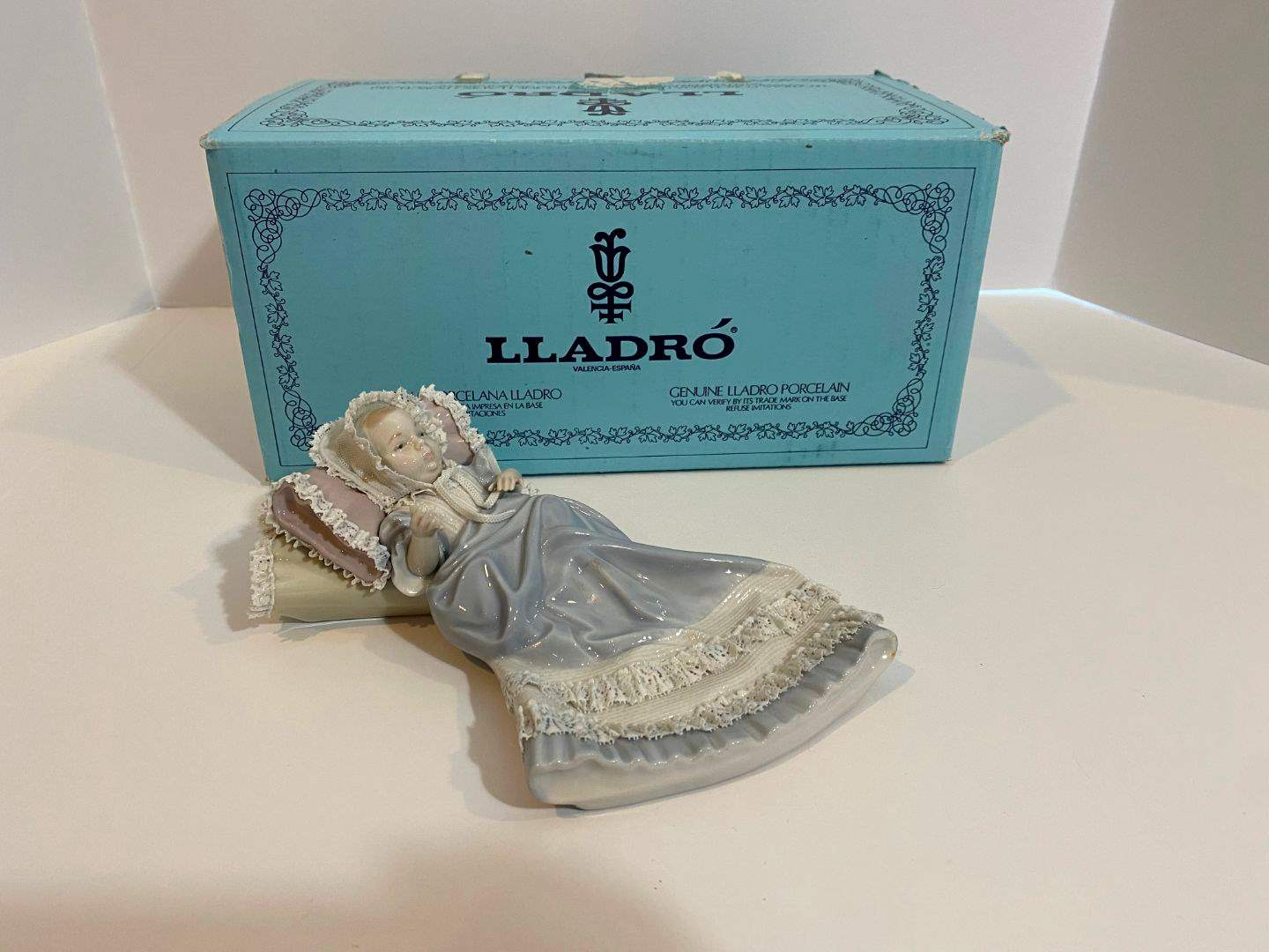 "Lot # 207 - Lladro ""The Christening"" Figurine #5618 w/ Original Box  (main image)"