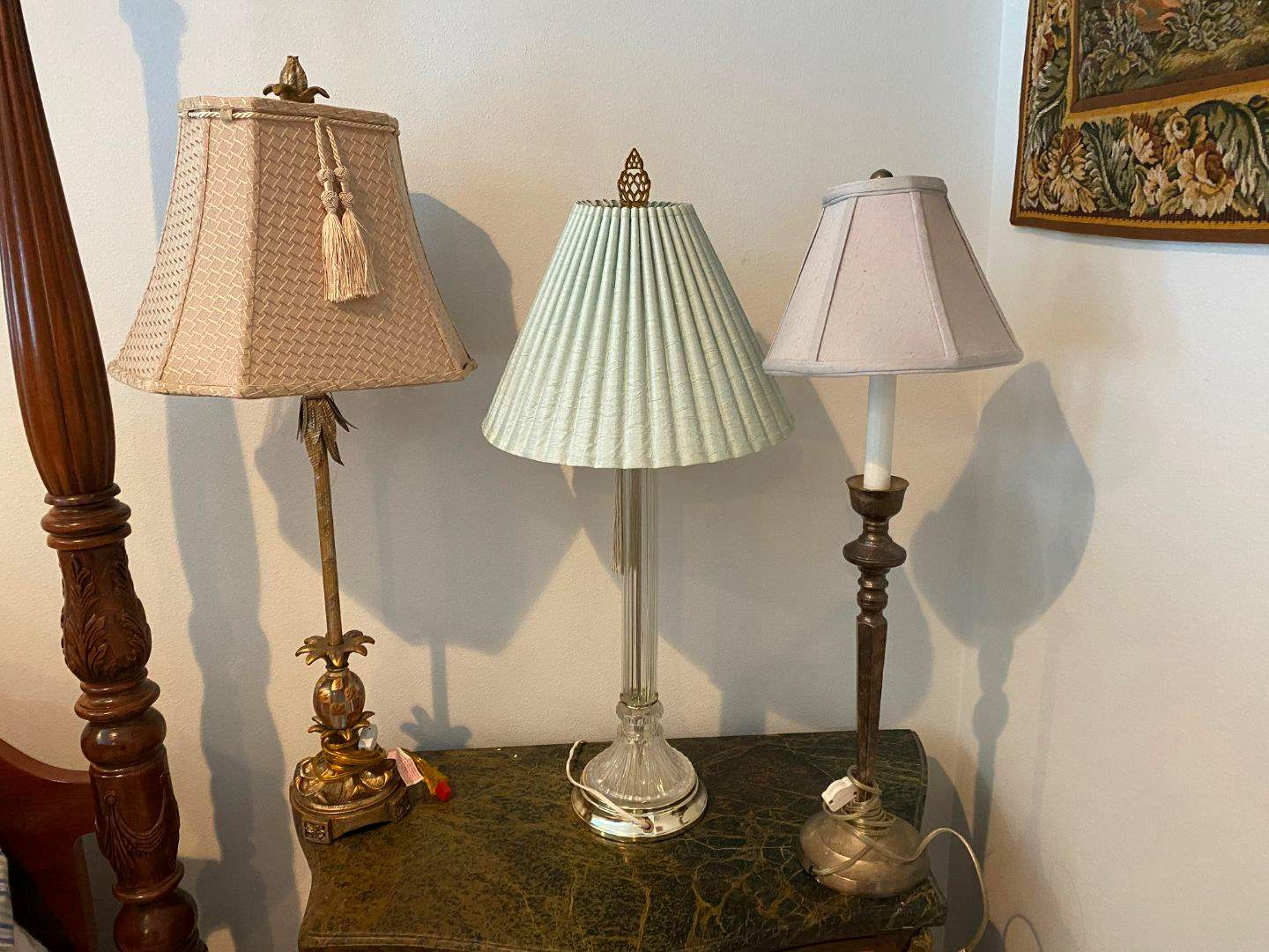 Lot # 275 - Misc. Lamps & Shades of Various Sizes (main image)